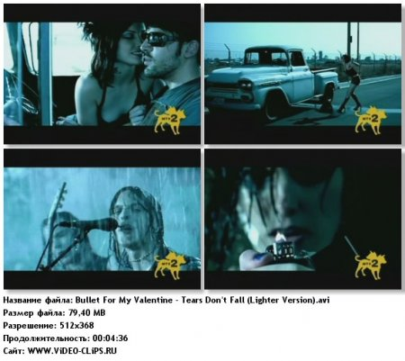 Bullet For My Valentine - Tears Don't Fall (Lighter Version)