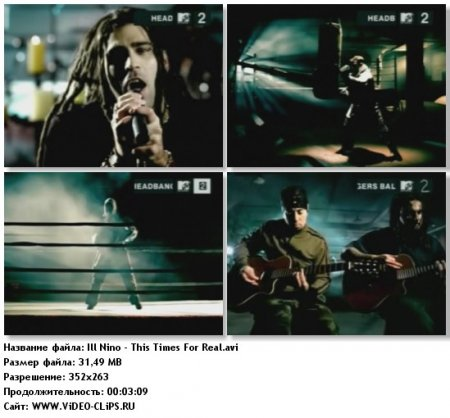 Ill Nino - This Times For Real