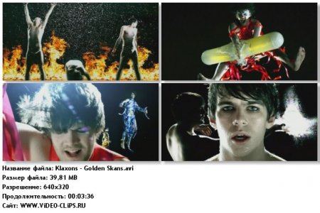 Klaxons - Golden Skans
