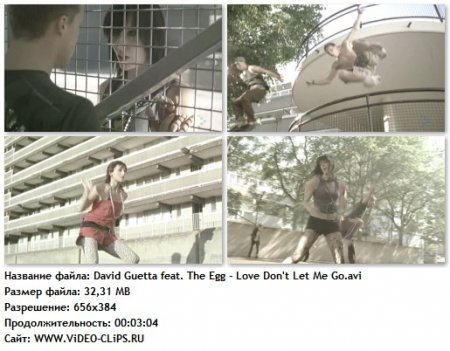 David Guetta feat. The Egg - Love Don't Let Me Go (Walking Away)