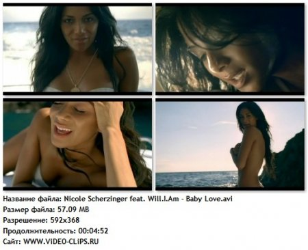 Nicole Scherzinger feat. Will.I.Am - Baby Love