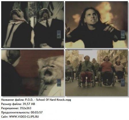 P.O.D. - School Of Hard Knock