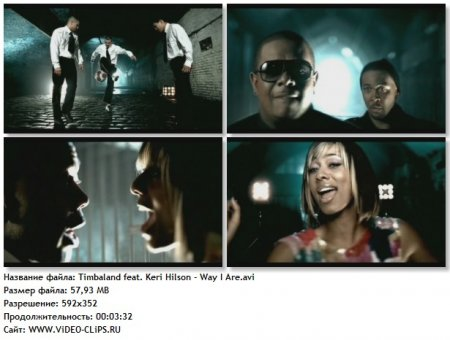 Timbaland feat. Keri Hilson, D.O.E. & Sebastian - Way I Are