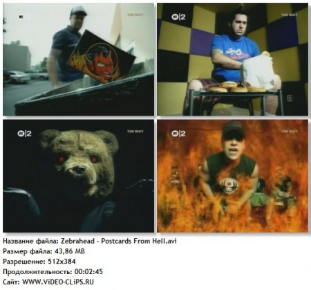 Zebrahead - Postcards From Hell