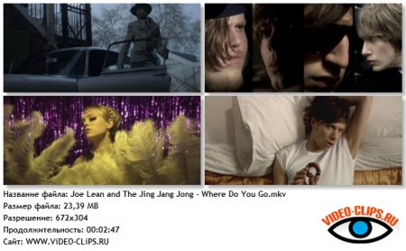 Joe Lean and the Jing Jang Jong - Where Do You Go