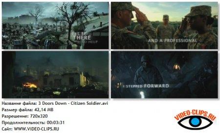 3 Doors Down - Citizen/Soldier