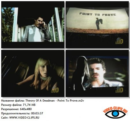 Theory Of A Deadman - Point To Prove