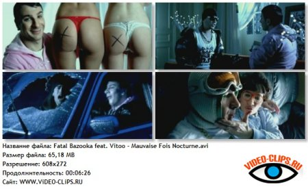 Fatal Bazooka feat. Vitoo - Mauvaise Fois Nocturne