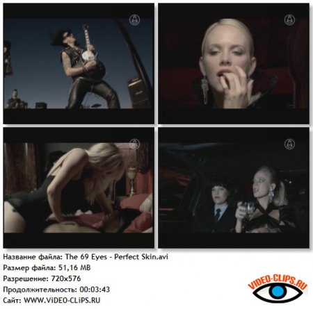 The 69 Eyes - Perfect Skin