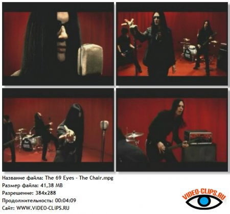 The 69 Eyes - The Chair