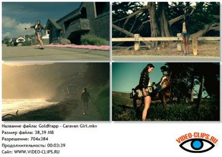 Goldfrapp - Caravan Girl