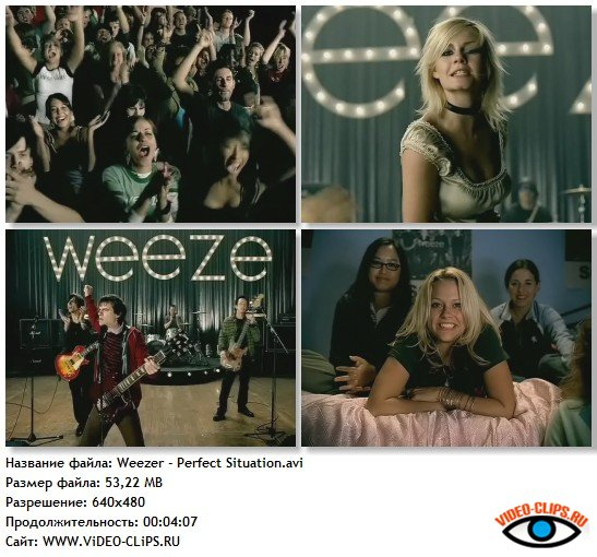Weezer - Perfect Situation HQ
