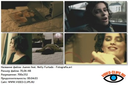 Juanes feat. Nelly Furtado - Fotografia