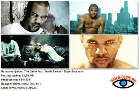 The Game feat. Travis Barker - Dope Boys