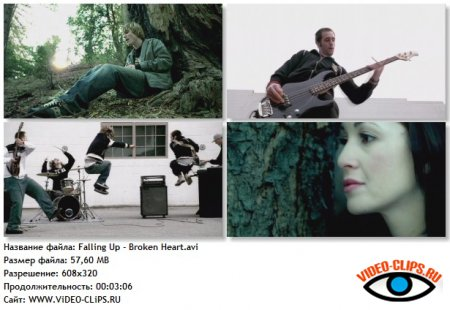Falling Up - Broken Heart