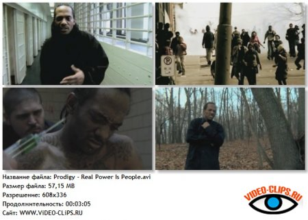 Prodigy - Real Power Is People