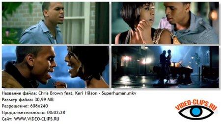 Chris Brown feat. Keri Hilson - Superhuman