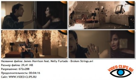 James Morrison feat. Nelly Furtado - Broken Strings