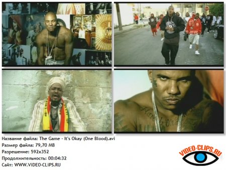 The Game feat. Junior Reid - It's Okay (One Blood)