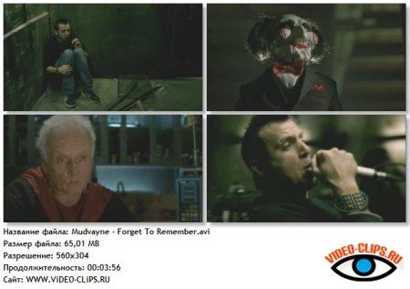 Mudvayne - Forget To Remember