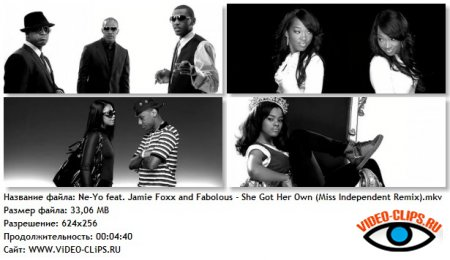 Ne-Yo feat. Jamie Foxx and Fabolous - She Got Her Own She Got Her Own (Miss Independent Part 2)