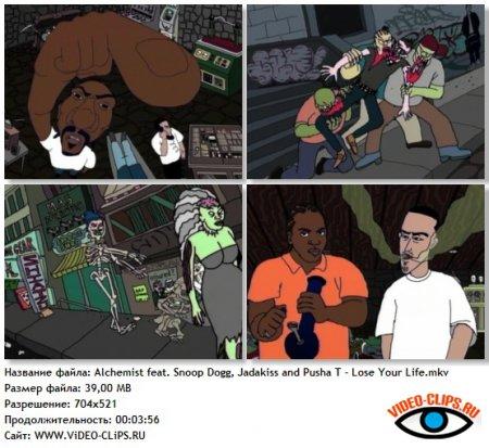 The Alchemist feat. Snoop Dogg, Jadakiss and Pusha T - Lose Your Life