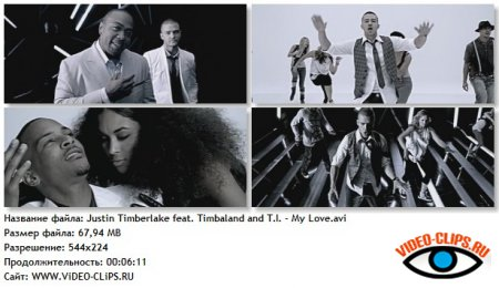 Justin Timberlake feat. Timbaland and T.I. - Let Me Talk To You / My Love