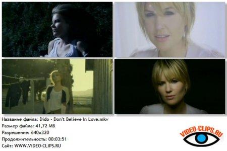 Dido - Don't Believe In Love