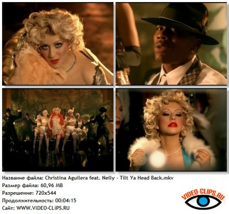 Nelly feat. Christina Aguilera - Tilt Ya Head Back