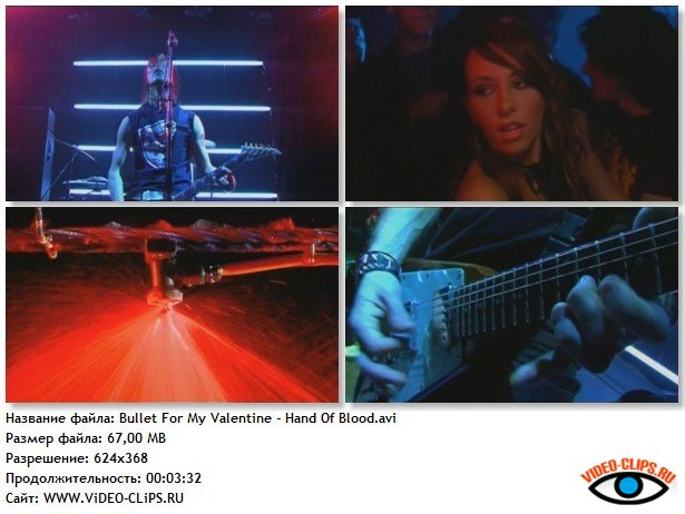 Bullet for My Valentine – Hand Of Blood DVDrip video