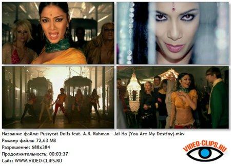 Pussycat Dolls feat. A. R. Rahman - Jai Ho! (You Are My Destiny)