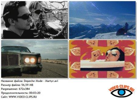 Depeche Mode - Martyr