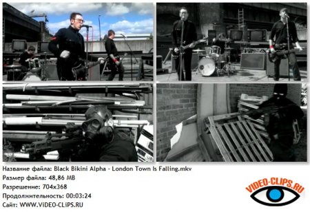 Black Bikini Alpha - London Town Is Falling