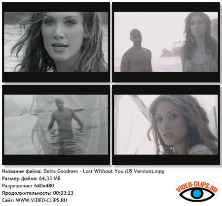 Delta Goodrem - Lost Without You (US Version)