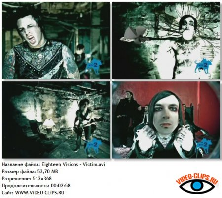 Eighteen Visions - Victim