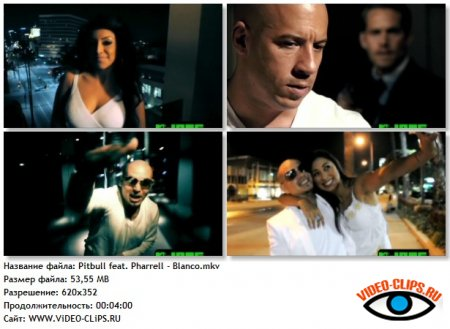 Pitbull feat. Pharrell - Blanco
