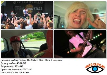 Forever The Sickest Kids - She's A Lady