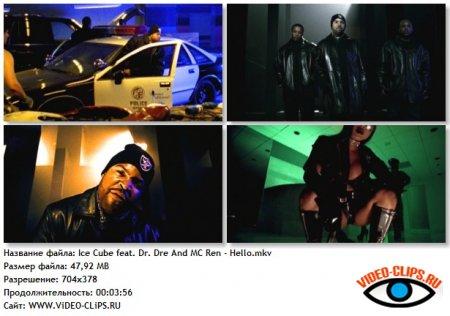 Ice Cube feat. Dr. Dre & MC Ren - Hello