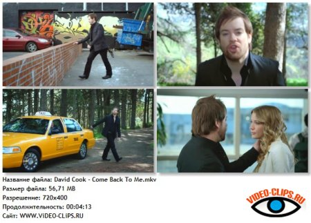 David Cook - Come Back To Me