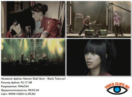 Heaven Shall Burn - Black Tears