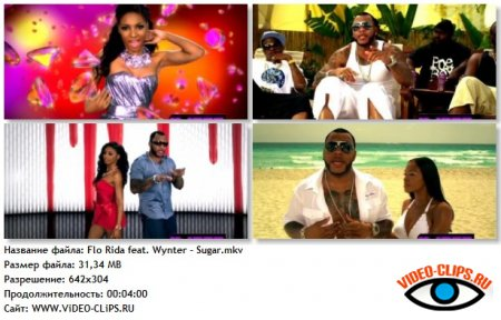Flo Rida feat. Wynter Gordon - Sugar