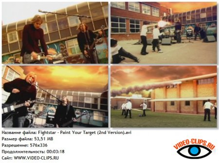 Fightstar - Paint Your Target (2nd Version)