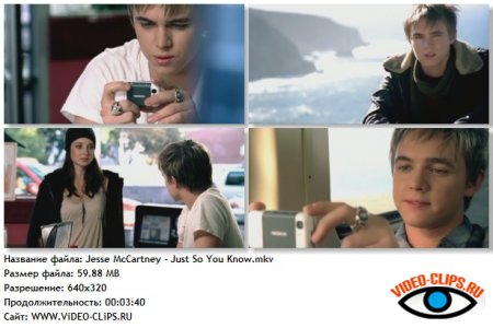 Jesse McCartney - Just So You Know