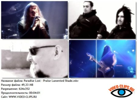 Paradise Lost - Praise Lamented Shade
