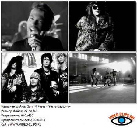 Guns N' Roses - Yesterdays