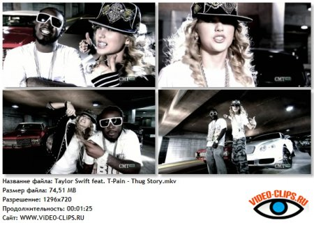 Taylor Swift feat. T-Pain - Thug Story