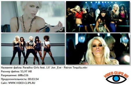Paradiso Girls feat. Lil' Jon & Eve - Patron Tequila