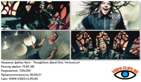 Korn - Thoughtless (Band Only Version)