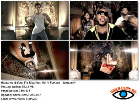 Flo Rida feat. Nelly Furtado - Jump