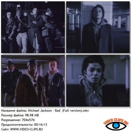 Michael Jackson - Bad (Full Version)